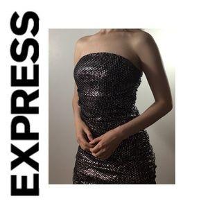 Express Stretch Sequin Dress